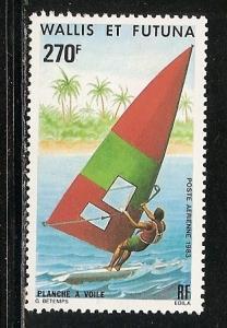 Wallis and Futuna Islands C119 1983 Wind Surfing single MNH