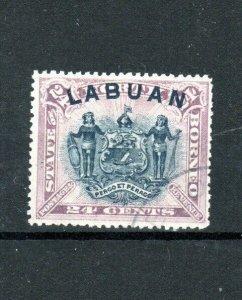 North Borneo - Labuan 1896 24c FU CDS
