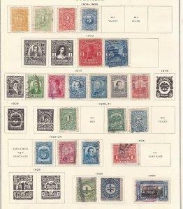 COLOMBIA ^^^^1904-30  hinged  & used CLASSICS $$@ sc65xxbcolocob