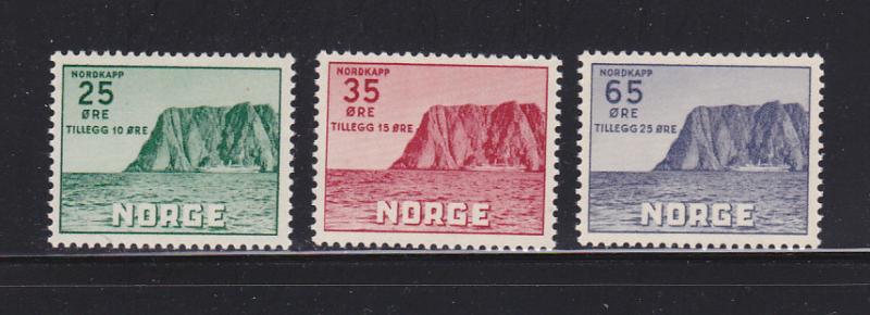 Norway B59-B61 Set MNH North Cape (A)