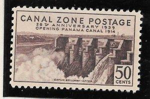 Canal Zone Scott #135 Mint NH 50c  25th Anniv 2018 CV $30.00+