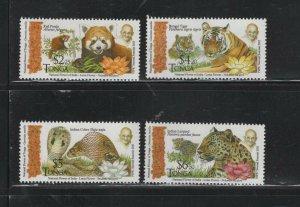 Tonga  #1284-87 (2016 Gandhi set) VFMNH CV $15.50