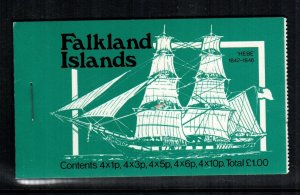 Falkland islands  260 - 269  MNH cat $ 40.00 full booklet