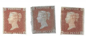 #3 Britain One Penny Red - Appears to be MH - CAT $550.00 - Stamp PICK ONE ONLY