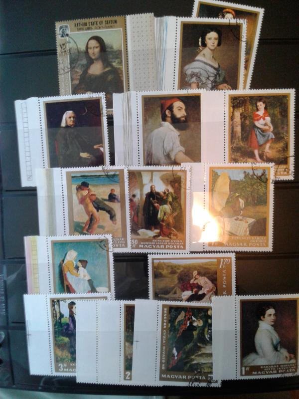EUROPEAN PICTORIAL USED STAMPS GIVE AWAY !!!