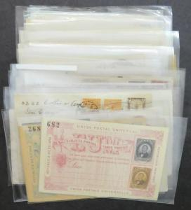 EDW1949SELL : MEXICO Fantastic Mint & Used collection of 60 Postal History items