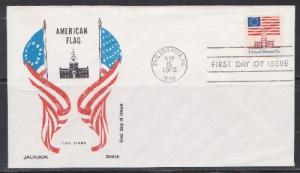 1625 Independence Hall Unaddressed Jackson FDC