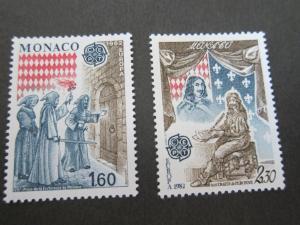 Monaco 1982 Sc 1329-30 set MNH