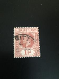 Leeward Islands sc 66 u wmk 4