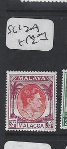 MALAYA MALACCA (PP2303B) KGVI 35C SG 12A MOG