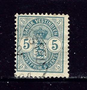 Danish West indies 22 Used 1900 issue