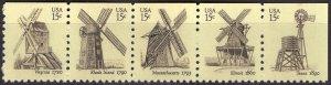United States 1742b - Mint-NH - 15c Windmills (Cpl) (1980) (cv $1.50)