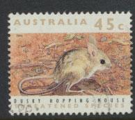 Australia SG 1316  Used  - Threatened species Hopping Mouse