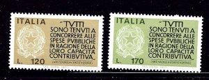 Italy 1259-60 MHR 1977 set