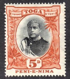 Tonga Scott 45  wtmk 79  F+  mint OG H.