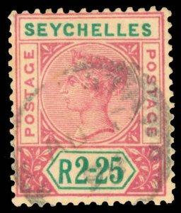 Seychelles Scott 1-21 Gibbons 1-35 Used Set of Stamps