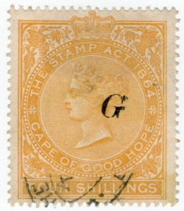 (I.B) Griqualand West Revenue : Duty Stamp 4/-