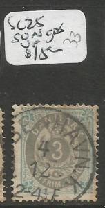 Denmark SC 25 SON CDS VFU (4chm)