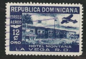 Dominican Republic Scott C75 used Airmail