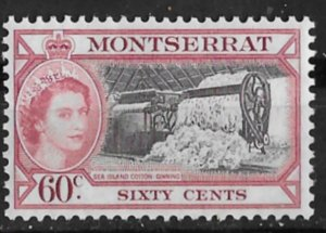Montserrat # 139 QE II Definitive   60-cents  (1)  Mint NH