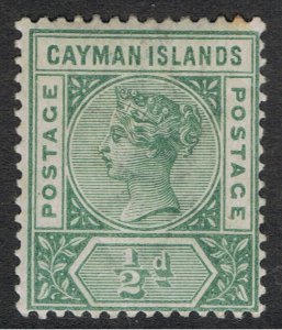 CAYMAN ISLANDS 1900 QUEEN VICTORIA