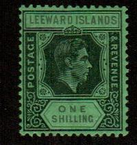 Leeward Islands #111a  Mint  Scott $10.00