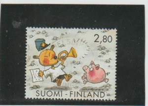 Finland  Scott#  946c  Used  (1994 Letter Writing Day)
