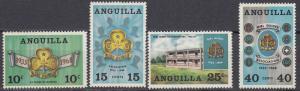 Anguilla - 1968 Girl Guides Sc# 40/43 - MNH (456N)