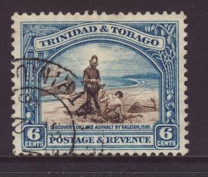 1937 Trinidad 6c Perf 13 x 12½ F/Used