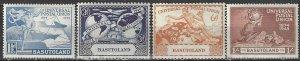 Basutoland 41-4   MNH  UPU 75th Anniversary 1949