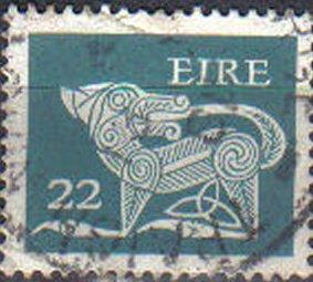 IRELAND, 1971, used 22p, Definitive Series