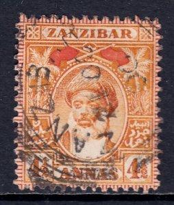 Zanzibar - Scott #69 - Used - SCV $7.00