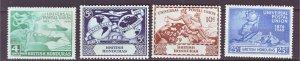 J22176 Jlstamps 1949 br honduras set mh #137-40 upu