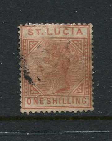St Lucia #36 Used