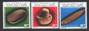 Mauritania. 1983. 798-800. Prehistoric stone products. MNH.