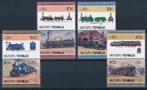 [63591] Tuvalu Vaitupu 1985 Railway Train Eisenbahn Chemin de Fer  MNH