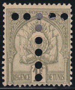 Tunisia 1888-1901 SC JA23 Mint