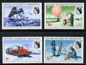 British Antarctic Territory 1969 25th Anniversary of Cont...