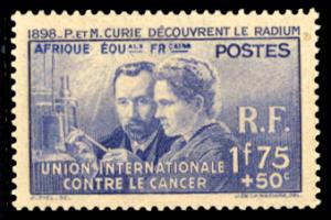 French Equatorial Africa 1938 Scott #B1 Mint Never Hinged