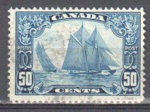 Canada #158 USED F-VF BLUENOSE