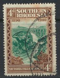 Southern Rhodesia SG 58 SC# 61  Used see scan and details