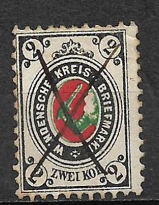 COLLECTION LOT OF # 797 RUSSIA WENDEN # L10   1880