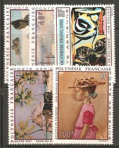 French Polynesia SC C63-7 MNH