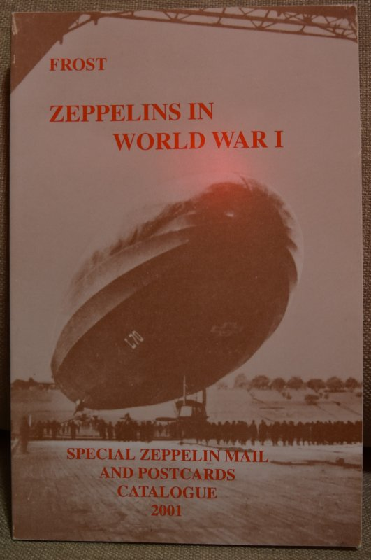 Doyle's_Stamps: Zeppelins in World War I, Frost, 2001 Catalogue