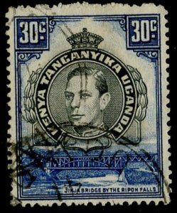 KUT Sc#76a SG#141a 1941 30c Perf. 14 Scarce Variety Used