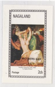 Nagaland - Painting Souvenir Sheet overprinted for Mothers Day, NH