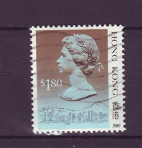 J9881 JL stamps 1988 hong kong used #533a queen