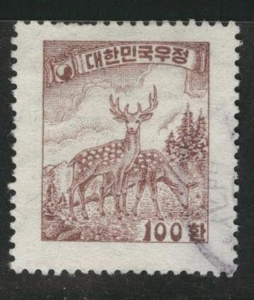 Korea Scott 197 used  stamp 1954