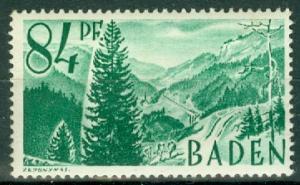 Germany - French Occupation - Baden - Scott 5N12 (SP)