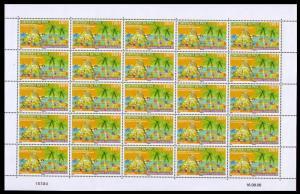 New Caledonia Regional Environmental Programme Sheetlet of 25v SG#1387 MI#1403